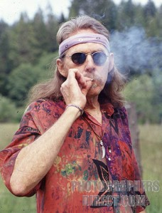 Pot Smoking Hippie