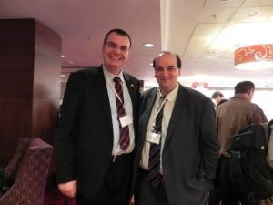 Dr Adrian Istrate impreuna cu Dr Konstantinos Farsalinos